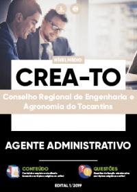 Agente Administrativo - CREA-TO