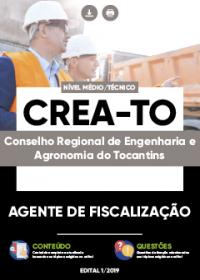 Agente de Fiscalização - CREA-TO