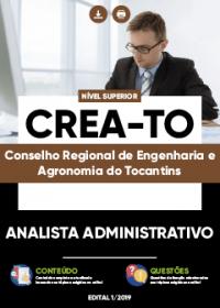 Analista Administrativo - CREA-TO