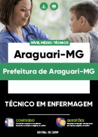 Técnico em Enfermagem - Prefeitura de Araguari-MG