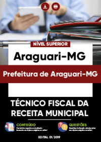 Técnico Fiscal da Receita Municipal - Prefeitura de Araguari-MG