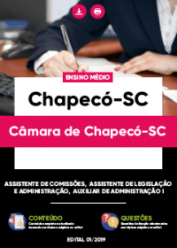 Assistente de Comissões - Câmara de Chapecó-SC