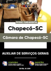 Auxiliar de Serviços Gerais - Câmara de Chapecó-SC