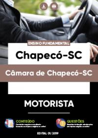 Motorista - Câmara de Chapecó-SC