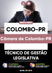 Técnico de Gestão Legislativa - Câmara de Colombo-PR