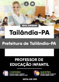 Professor de Educação Infantil - Prefeitura de Tailândia-PA