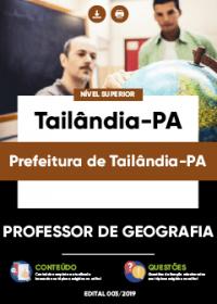 Professor de Geografia - Prefeitura de Tailândia-PA