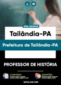 Professor de História - Prefeitura de Tailândia-PA