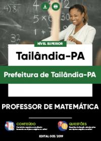 Professor de Matemática - Prefeitura de Tailândia-PA