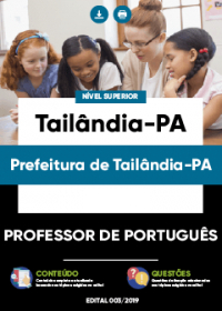 Professor de Português - Prefeitura de Tailândia-PA