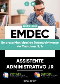Assistente Administrativo Jr - EMDEC