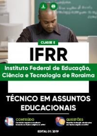 Técnico em Assuntos Educacionais - IFRR