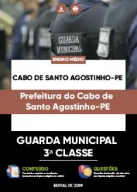 Guarda Municipal 3ª Classe - Prefeitura do Cabo de Santo Agostinho-PE