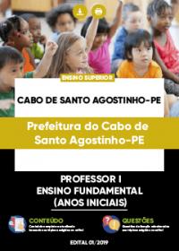 Professor I Anos Iniciais - Prefeitura do Cabo de Santo Agostinho-PE
