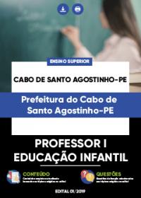 Professor I - Educação Infantil - Prefeitura do Cabo de Santo Agostinho-PE