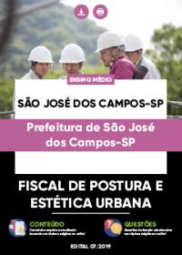 Fiscal de Postura e Estética Urbana - Prefeitura de São José dos Campos-SP