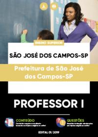 Professor I - Prefeitura de São José dos Campos-SP