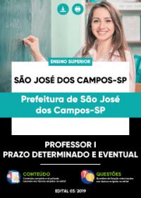 Professor I - Processo Seletivo - Prefeitura de São José dos Campos-SP