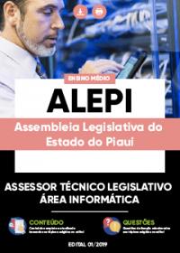 Assessor Técnico Legislativo - Área Informática - ALEPI