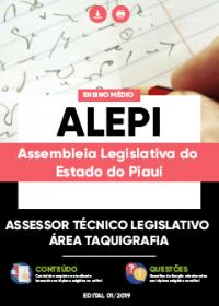 Assessor Técnico Legislativo - Área Taquigrafia - ALEPI