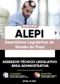 Assessor Técnico Legislativo - Área Administrativa - ALEPI