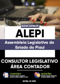 Consultor Legislativo - Área Contador - ALEPI