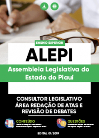 Consultor Legislativo - Área Redação de Atas e Revisão de Debates - ALEPI