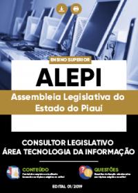 Consultor Legislativo - Área Tecnologia da Informação - ALEPI