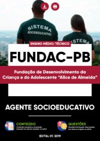 Agente Socioeducativo - FUNDAC-PB