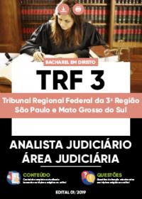 Analista Judiciário - Área Judiciária - TRF 3ª Região