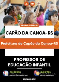Professor de Educação Infantil - Prefeitura de Capão da Canoa-RS