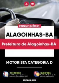Motorista Categoria D - Prefeitura de Alagoinhas-BA