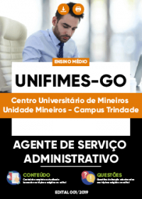 Agente de Serviço Administrativo - UNIFIMES-GO