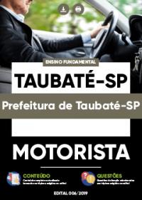 Motorista - Prefeitura de Taubaté-SP