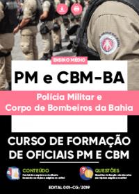 Curso de Formação de Oficiais PM e CBM - PM e CBM-BA