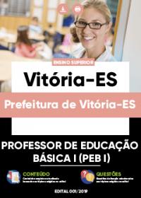 Professor de Educação Básica I - Prefeitura de Vitória-ES