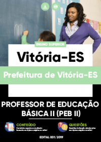 Professor de Educação Básica II - Prefeitura de Vitória-ES