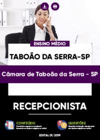 Recepcionista - Câmara de Taboão da Serra-SP