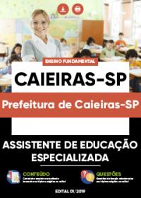 Assistente de Educação Especializada - Prefeitura de Caieiras-SP