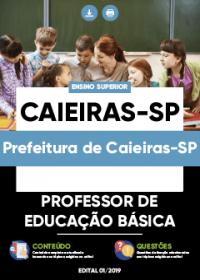 Professor de Educação Básica - Prefeitura de Caieiras-SP