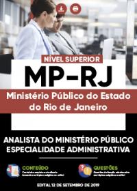 Analista do Ministério Público - Especialidade Administrativa - MP-RJ