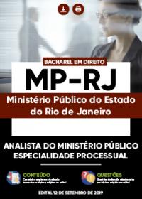 Analista do Ministério Público - Especialidade Processual - MP-RJ