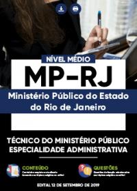 Técnico do Ministério Público - Especialidade Administrativa - MP-RJ