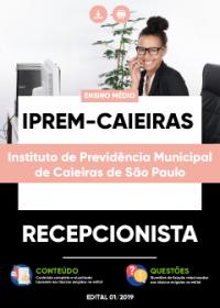 Recepcionista - IPREM de Caieiras-SP