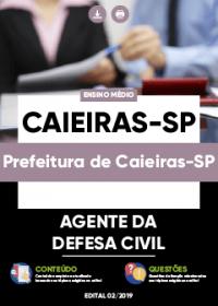 Agente da Defesa Civil - Prefeitura de Caieiras-SP