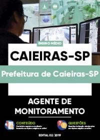 Agente de Monitoramento - Prefeitura de Caieiras-SP