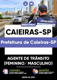 Agente de Trânsito - Prefeitura de Caieiras-SP