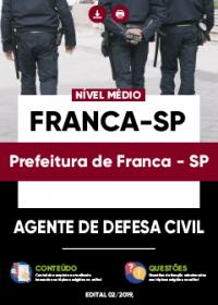 Agente de Defesa Civil - Prefeitura de Franca-SP