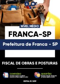 Fiscal de Obras e Posturas - Prefeitura de Franca-SP