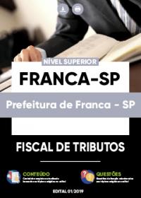 Fiscal de Tributos - Prefeitura de Franca-SP
